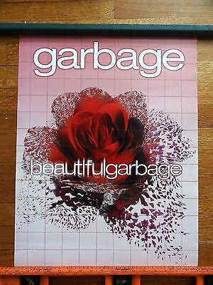 GARBAGE beautiful garbage POSTER double sided 18 x 24 Promo
