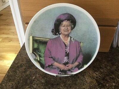 The Queen Mother 90th Birthday Plate