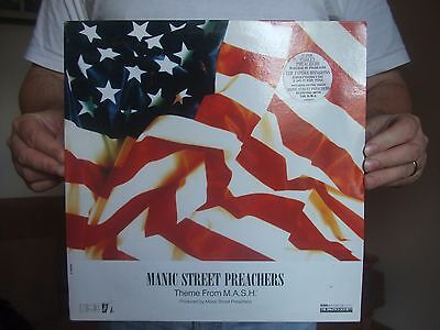 Manic Street Preachers, Suicide is Painless (theme from MASH) 12inch record