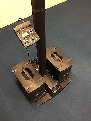 Bose L1 series 2 PA system with 2x B1 Base, Tone-match, Cases and Cables