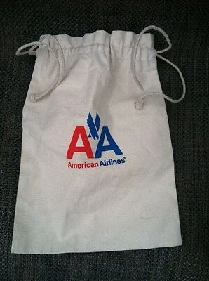 New American Airlines canvas tote