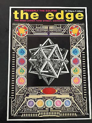 Rave Flyers The Edge