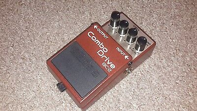 Boss bc2 combo drive overdrive distortion pedal