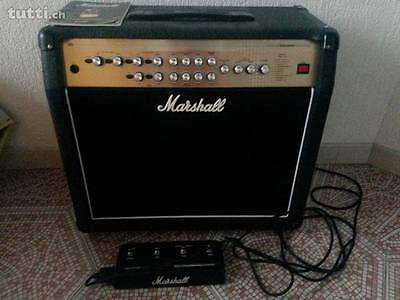 MARSHALL AVT 100x GUITAR AMPLIFIER WITH PEDAL GOOD CONDITION