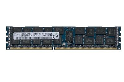 New Original Hp 128Gb 8X 16Gb Ddr3 Pc3-10600R Ecc Server Ram Dl380 G7 G8 G6 Ml38