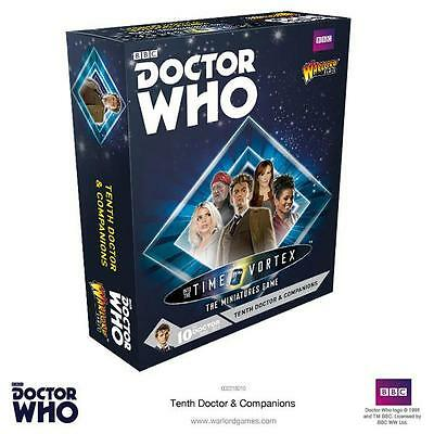 Tenth Doctor & Companions *Doctor Who Into The Time Vortex* Warlord Games