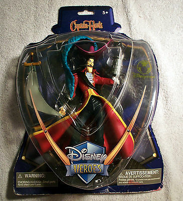 Disney Heroes Captain Hook the Nemesis of Peter Pan Collectable Action Figure