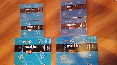 Student Support Centre's Simply Maths Books + DVD's
