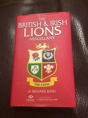 The British & Irish Lions Miscellany by Richard Bath - Signed By Matt Dawson