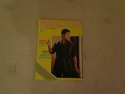 BRUCE LEE and JKD POSTER MAGAZINE 5
