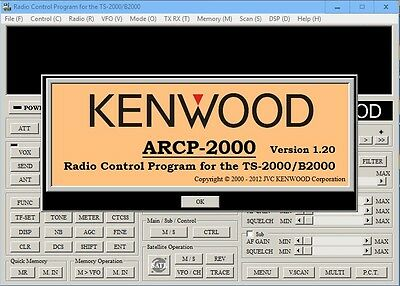 KENWOOD ARCP-2000 TS-2000,TS-2000X,B2000 (5 FREE Service Manuals Included)
