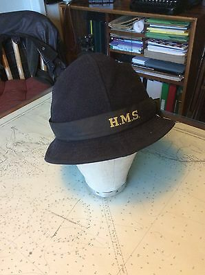Early WW2 Royal Navy Wren WRNS rating hat