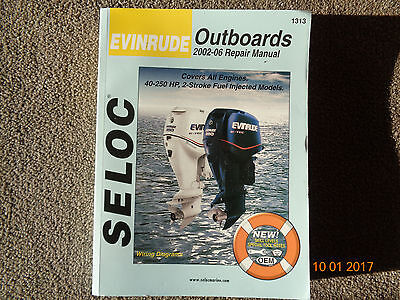 REPAIR MANUAL for 2002-2006 EVINRUDE OUTBOARDS