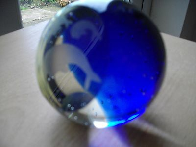 Unusual Glass Paperweight