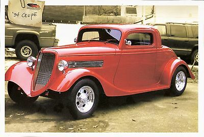 1934 Replica/Kit Makes 1934 FORD 3 WINDOW COUPE NONE '34 FORD 3 WINDOW COUPE KIT