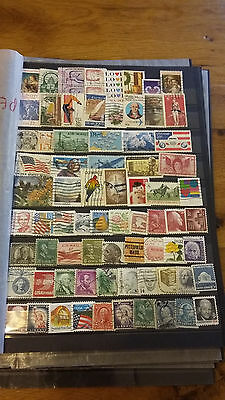 74 Timbres Usa Obliteres Lot S3