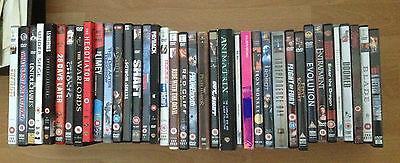 DVD Bundle (sold individually) - comedy, horror, sci-fi, romance etc - Region 2