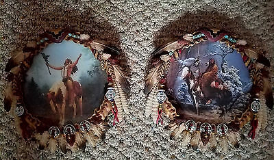 Hamilton collection of 2 mystic warriers shield collection