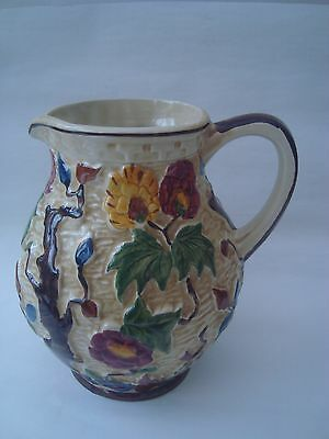 Indian Tree Hand-Painted  Jug