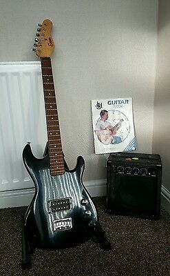 Encore electric guitar and amp