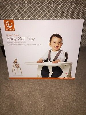Stokke Steps Baby Set High Chair Tray New