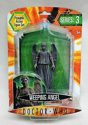 Doctor Who Poseable Action Figures - Series 3 - Weeping Angel In Box