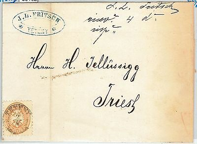 58162 - Austria HUNGARY  - POSTAL HISTORY: COVER from Tétény to TRIESTE