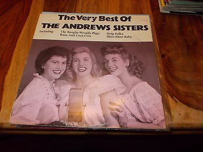the andrew sisters lp