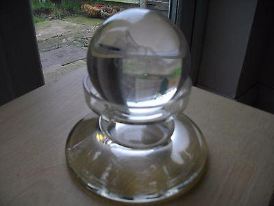 Glass Orb On A Stand