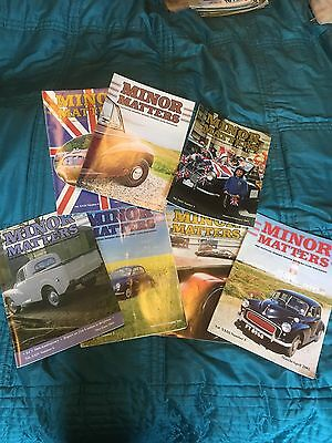 7 Morris Matters, Minor Owners Club Mags, 2002, 2003.