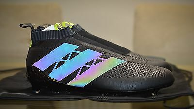 Adidas Ace 16+ Dark Space Black Out Football Boots Sizes 9.5 & 10