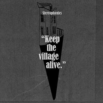 STEREOPHONICS - KEEP THE VILLAGE ALIVE  VINYL LP  And Cd In Mint Condition.