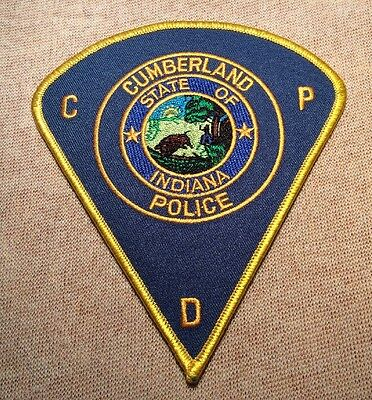 IN Cumberland Indiana Police Patch