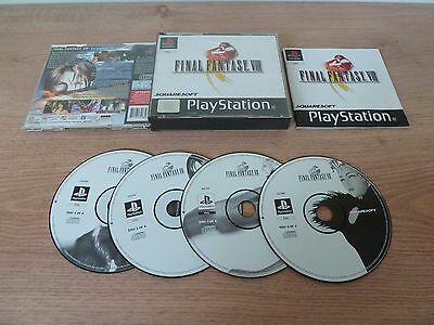 Final Fantasy 8 pour console Sony Playstation complet