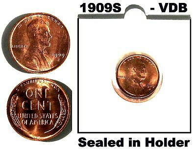 USA 1909S VDB LINCOLN WHEAT CENT See text For Details
