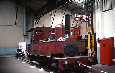 (421) Narrow Gauge - French Engine? - 35mm Colour Slide