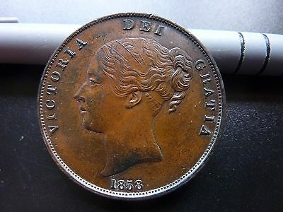 1858 Penny Victoria 'A Stunning Coin'