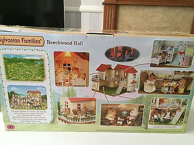 REDUCED Sylvanian Families Boxed Beechwood Hall / New /collectable