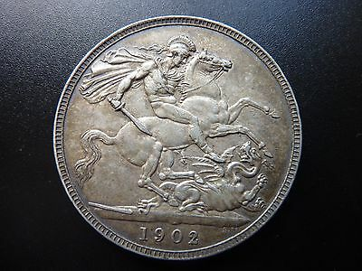 1902 Edward VII Crown Silver Coin