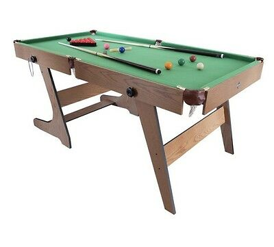 Hy-Pro 6ft Folding Snooker and Pool Table Brand New In Box