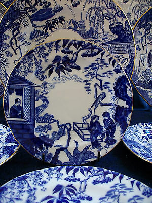 ROYAL CROWN DERBY MIKADO (c.1933-1944)-  BREAD AND BUTTER PLATE(s)-EXCELLENT!!