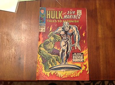 Tales to Astonish #93 LOW GRADE Silver Surfer Vs Hulk 2.0