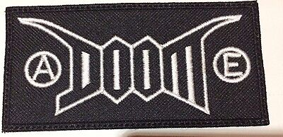 Doom Patch Embroidered Punk Crust Discharge D Beat