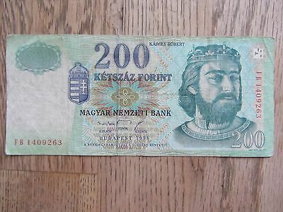 200 Forint 1998 Banknote