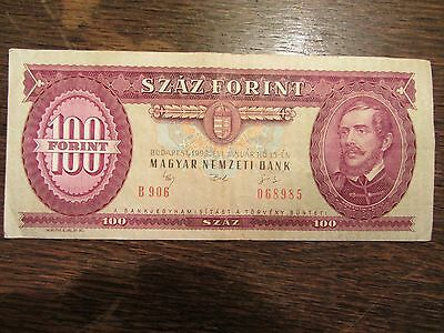 100 Forint 1992 Banknote