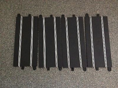 Lot Of 4 Scalextric Sport/Digital C8205 Full Straights Good Condition