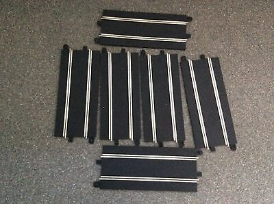 Lot Of 6 Scalextric Sport/Digital C8205 Full Straights Good Condition