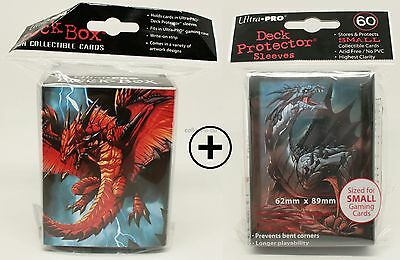 Ultra Pro Deck Box + 60 Deck Protector Sleeves - Drache