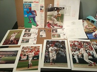 Amazing St. Louis Cardinals, Musial, Slaughter, McGwire Collection - Wowsa!