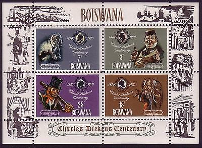 Botswana Charles Dickens MS SG#MS269 SC#65a